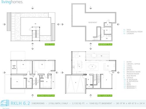 Nexterra LivingHomes Floor Plan