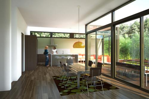 Nexterra LivingHome Interior Rendering